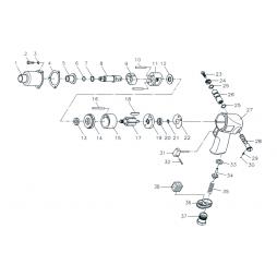 Gison GW12C Havalı Somun Sökme Makinesi İçin Yedek Parça Temini