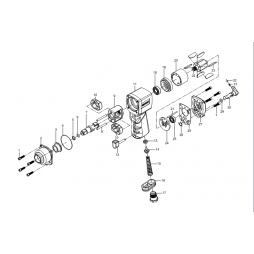 Gison GW 17T Havalı Somun Sökme Makinesi İçin Yedek Parça Temini