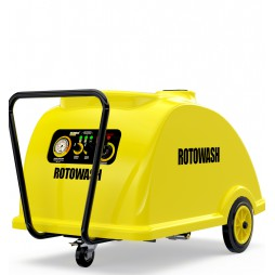 Rotowash SDS 1800 Turbo 180 Bar Tetiksiz Sıcak Soğuk Basınçlı Yıkama Makinesi