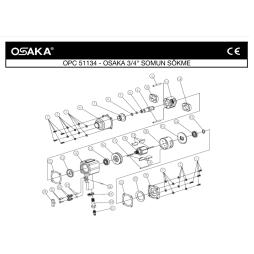 Osaka OPC 51134 3/4