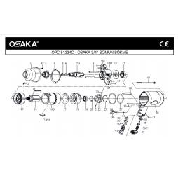 Osaka OPC 51234 C 3/4