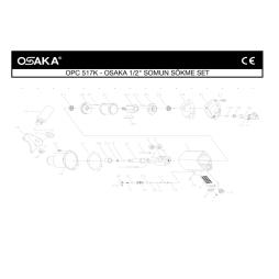 Osaka OPC 517 Havalı Somun Sökme Makinası İçin Yedek Parça Temini