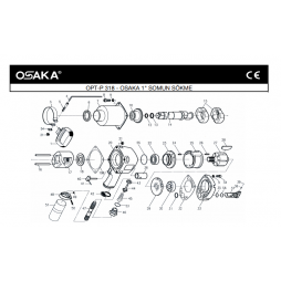 Osaka OPT-P 318 Havalı Somun Sökme Makinesi İçin Yedek Parça Temini
