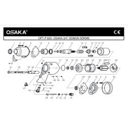 Osaka OPT-P 625 3/4