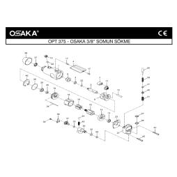 Osaka OPT 375 3/8