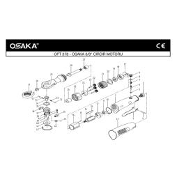 Osaka OPT 378 Havalı Cırcır Motoru İçin Yedek Parça Temini