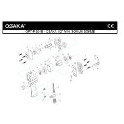 Osaka OPT-P 504 B Havalı Somun Sökme Makinesi İçin Yedek Parça Temini